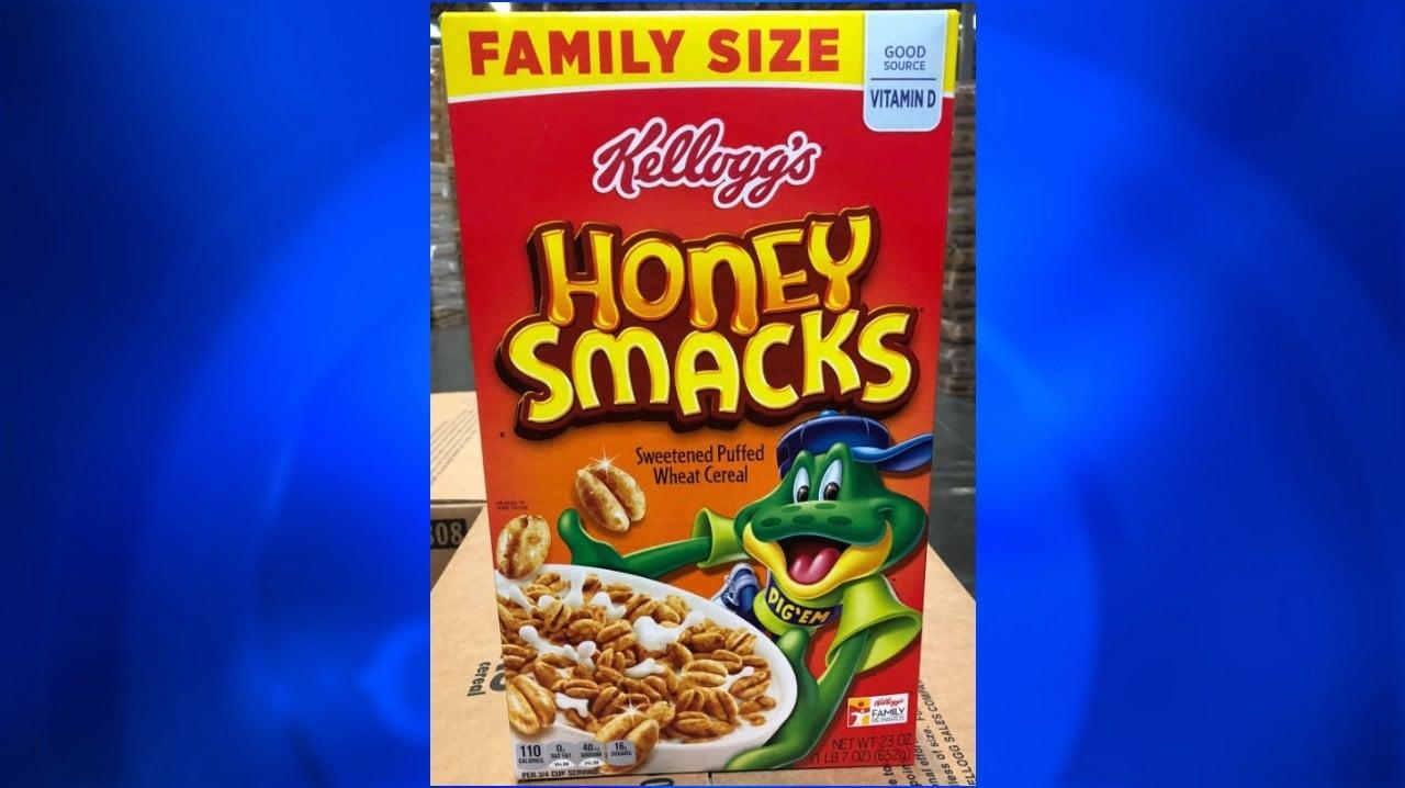 Honey Smacks cereal. Image: FDA