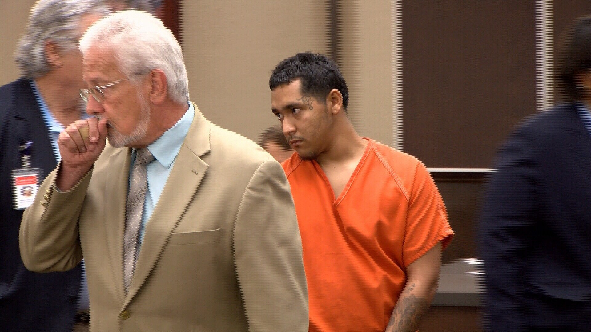 Photo: Michael Sotelo appears in the 319th District Court Monday morning. (KRIS 6 News)