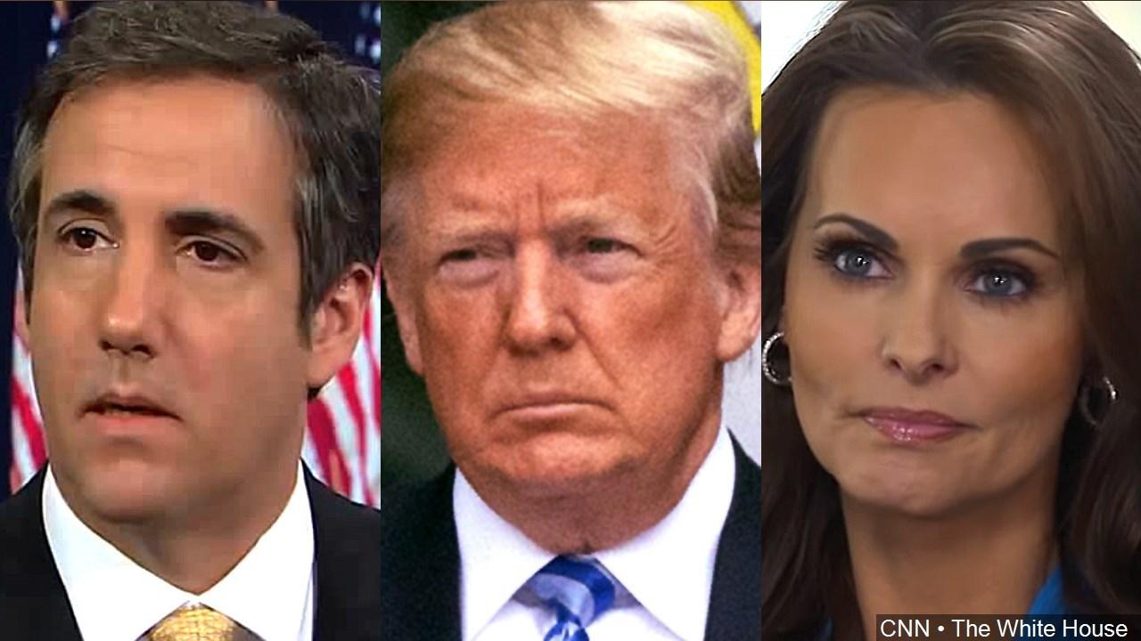 PHOTO: Trump's Former Attorney Michael Cohen, US President Donald Trump and former Playboy model Karen McDougal (Photo: The White House/CNN)
