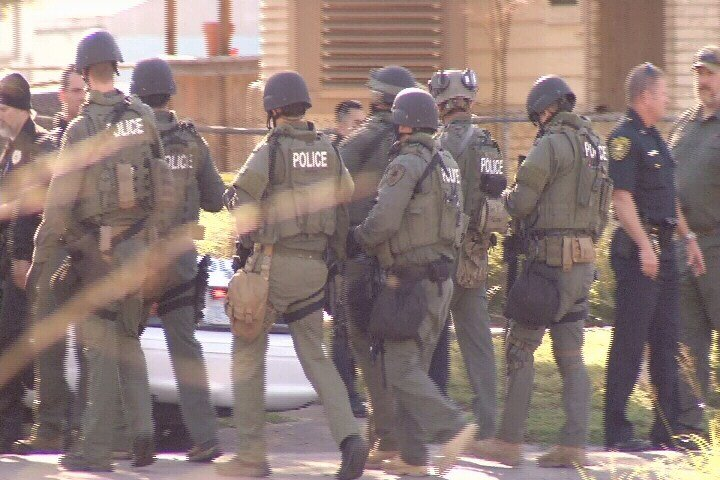 Corpus Christi Police Department SWAT team.