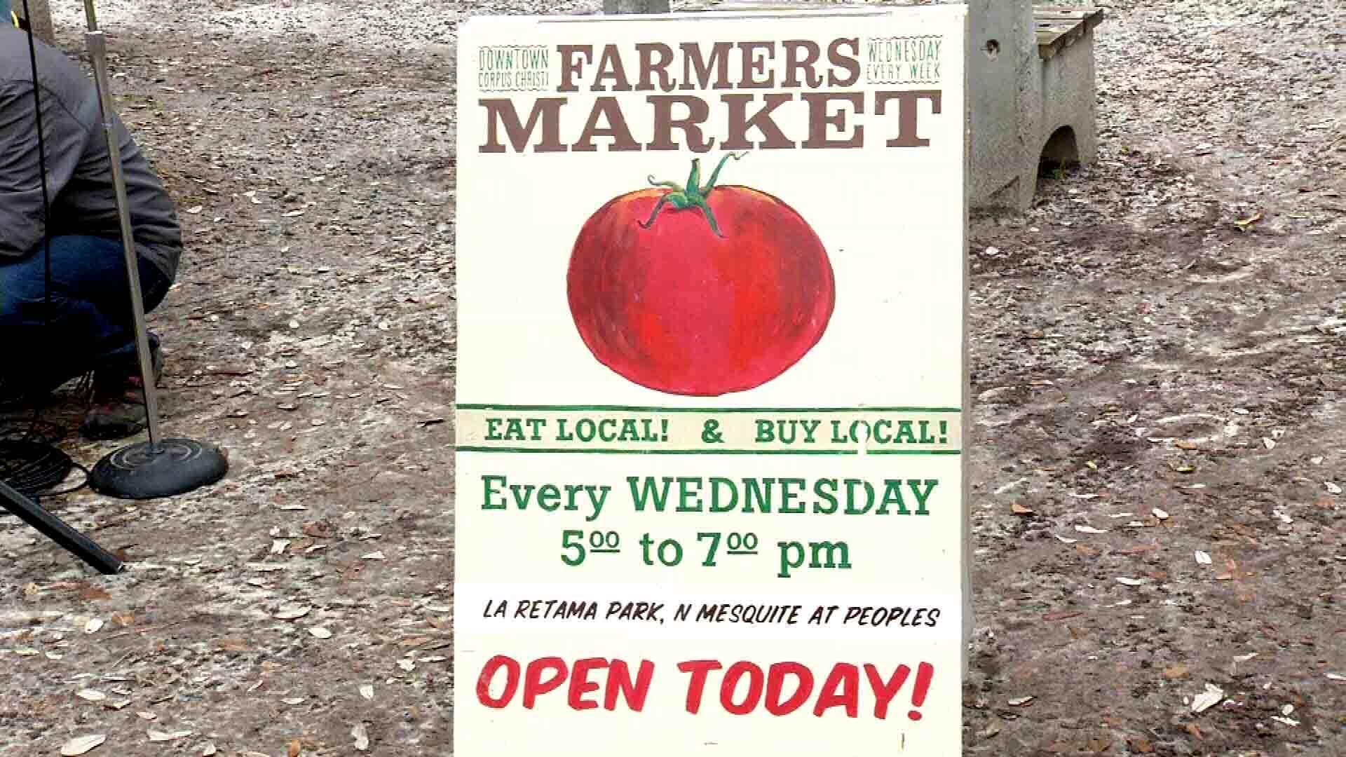 GROW Local STX Farmers' Market held Wednesdays at La Retama Park