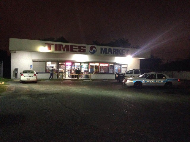 A late night robbery took place Wednesday at the Times Market on Greenwood and Horne. (KRIS)