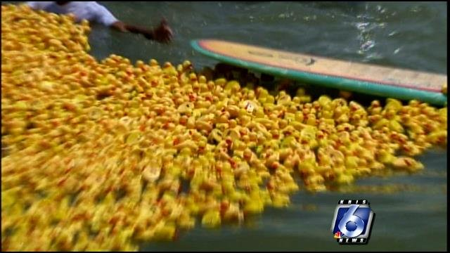 The Rubber Duck Round-up will take place at Cole Park - Saturday, May 27th