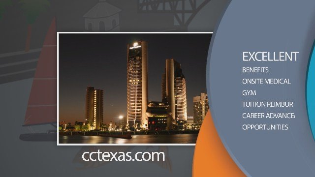 Apply for jobs with the City of Corpus Christi at cctexas.com