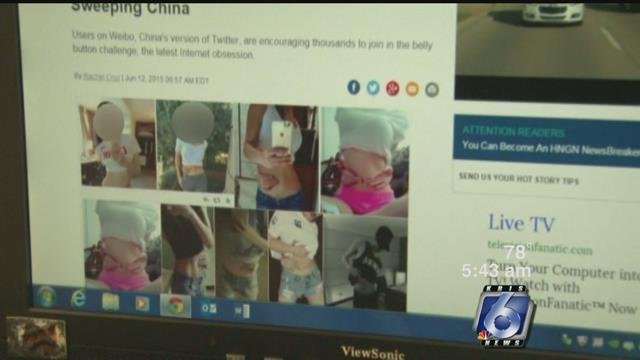 An online challenge on the rise known as the Belly Button Challenge has medical professionals concerned on the negative effects it can have on body image.