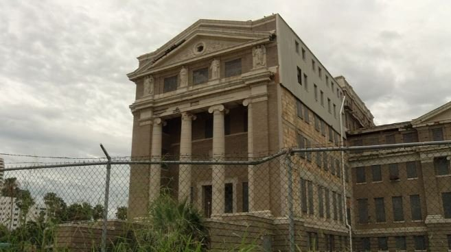 The old Nueces County courthouse is protected from demolition until 2026.