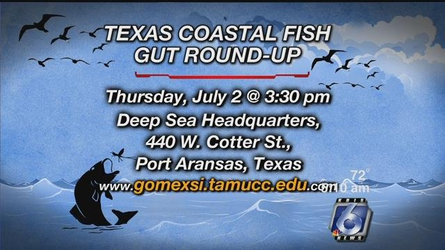 Information about the drop off location for the fish guts.