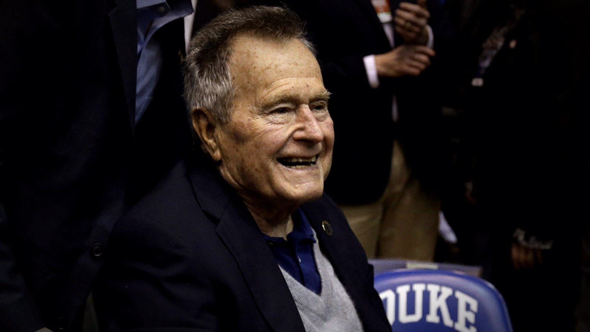 (Photo Courtesy NBC NEWS: George H.W. Bush