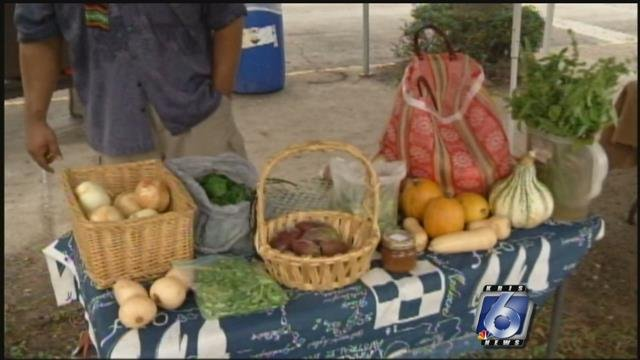 Local farmers market will be held Wednesday night with special Thanksgiving foods.