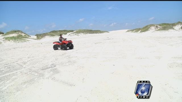 Beach re-opened for driving