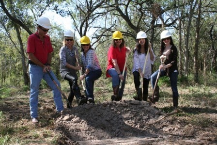 New Life Refuge broke ground for the project on October 17th.