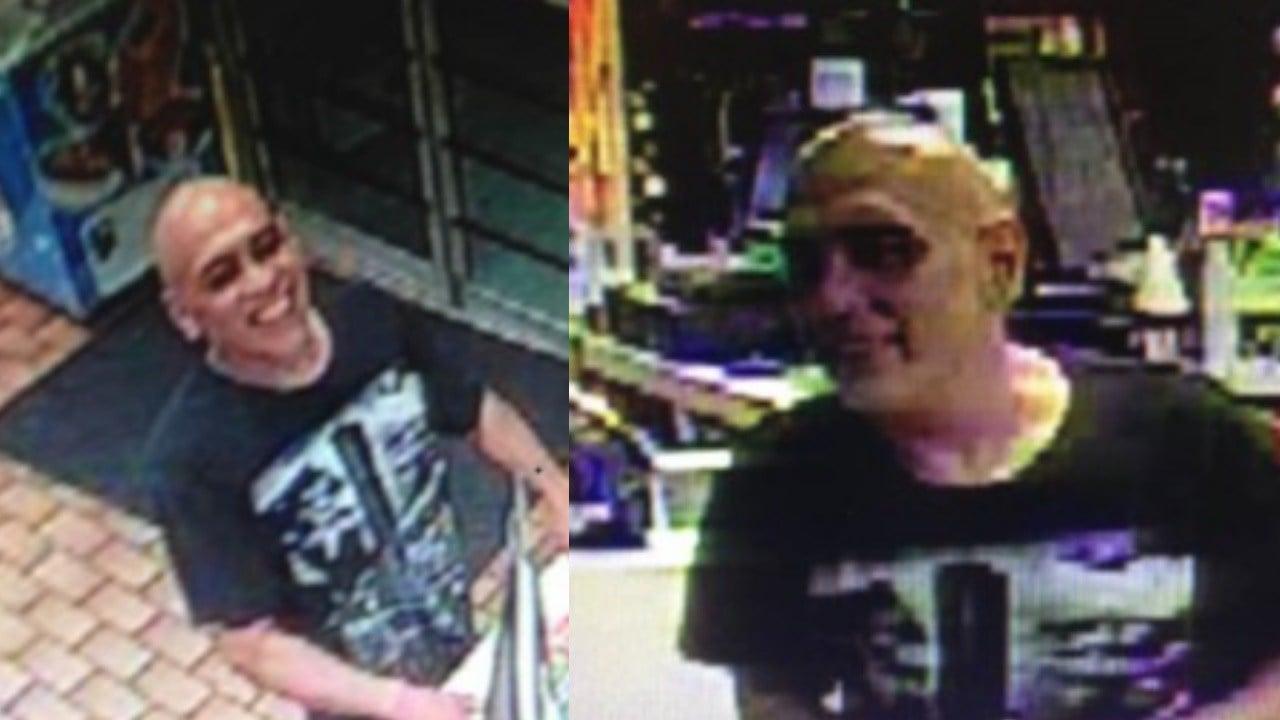 Surveillance image of robber at Valero on McArdle Road. (Corpus Christi PD)