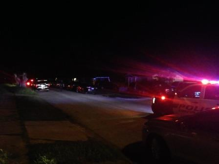 CCPD investigates an officer-involved shooting on Concord St.