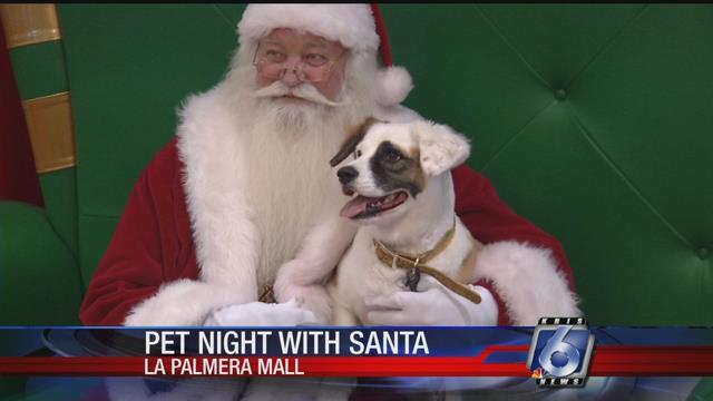 Pet Night with Santa