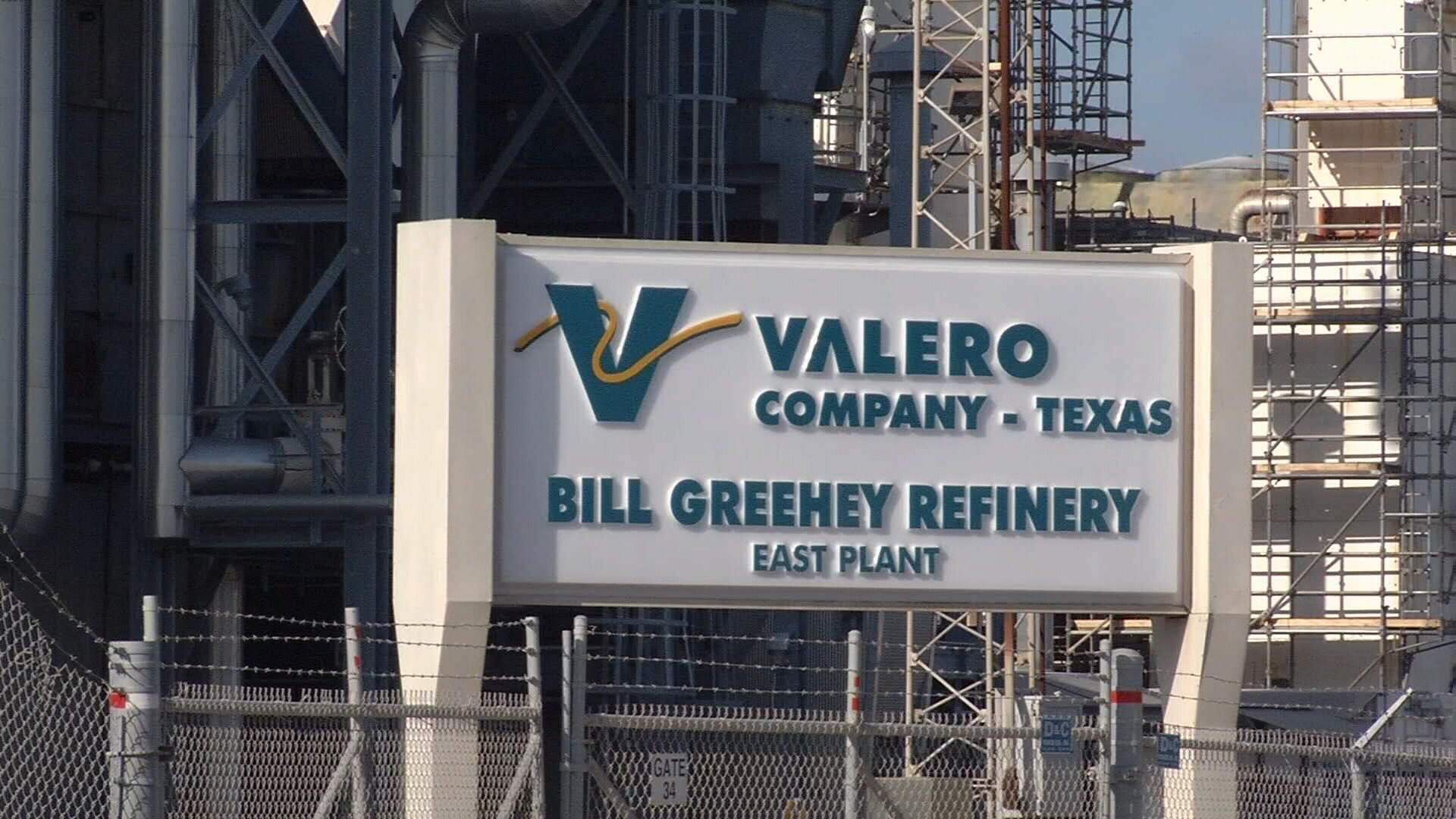 Valero Bill Greehey Refineries will present $600,000 to local children's charities today.