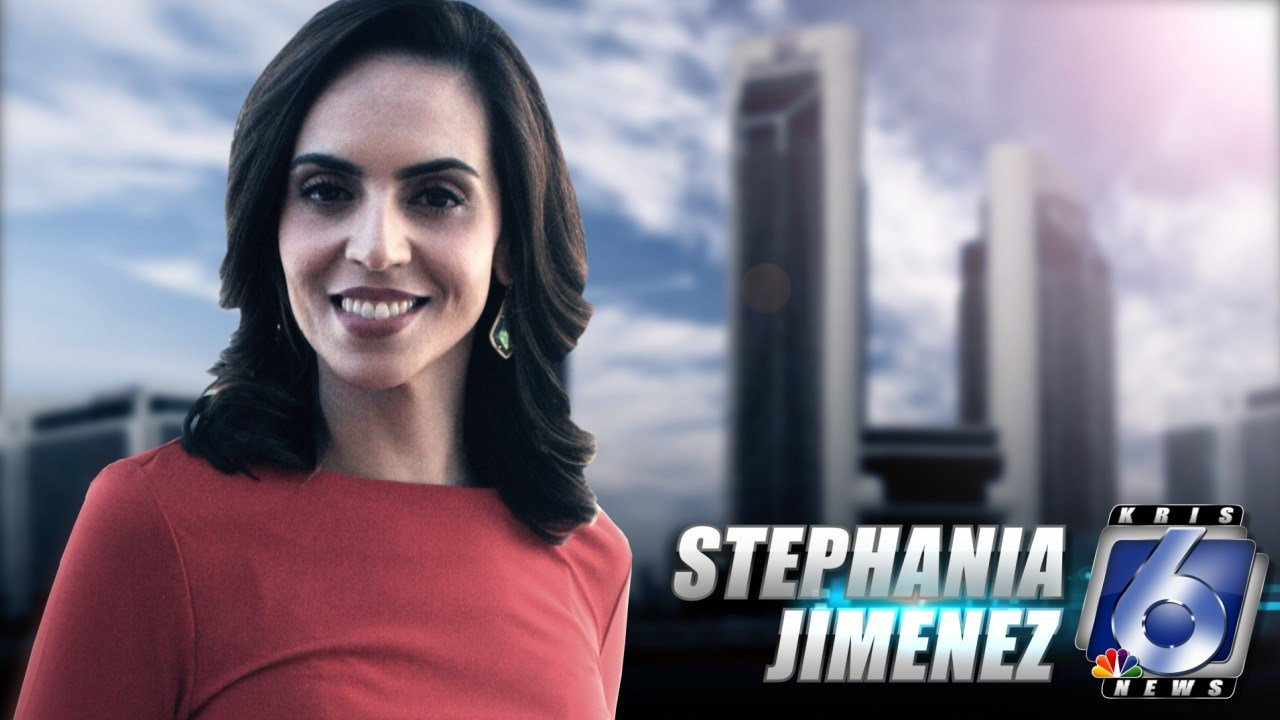Stephania Jimenez, co-anchor for KRIS 6 News at 5 and 10 p.m.
