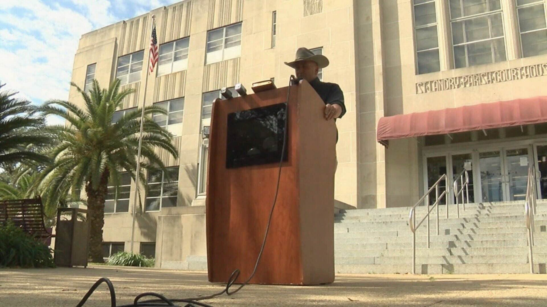 Captain Clay Higgins announces resignation from sheriff's office