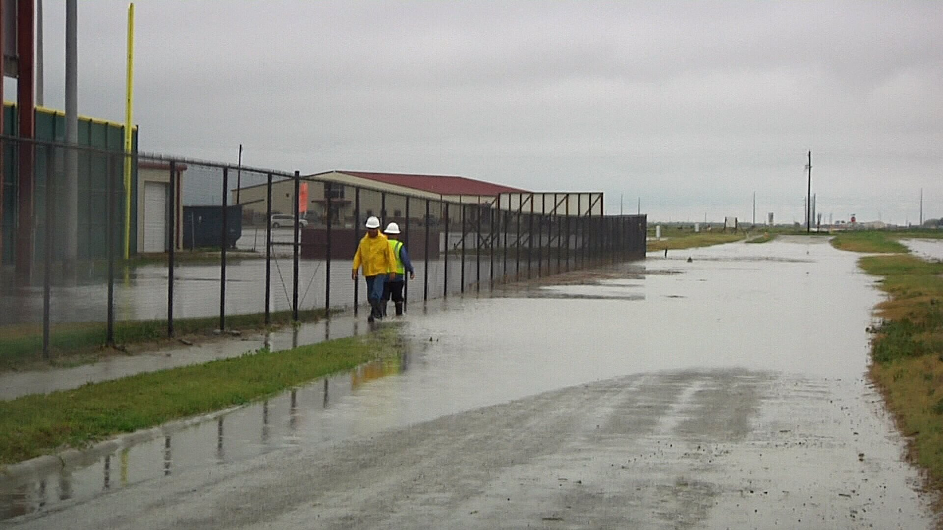 tuloso midway isd delays classes due to flooding com a photo from wednesday outside the school