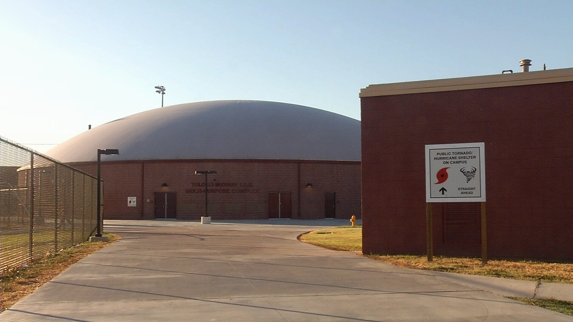 tuloso midway isd opens fema safe dome kristv com continuous tuloso midway isd opens its fema safe dome which will also serve as a