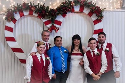 Surprise wedding gift for bride, meets recipient of late sons o ...