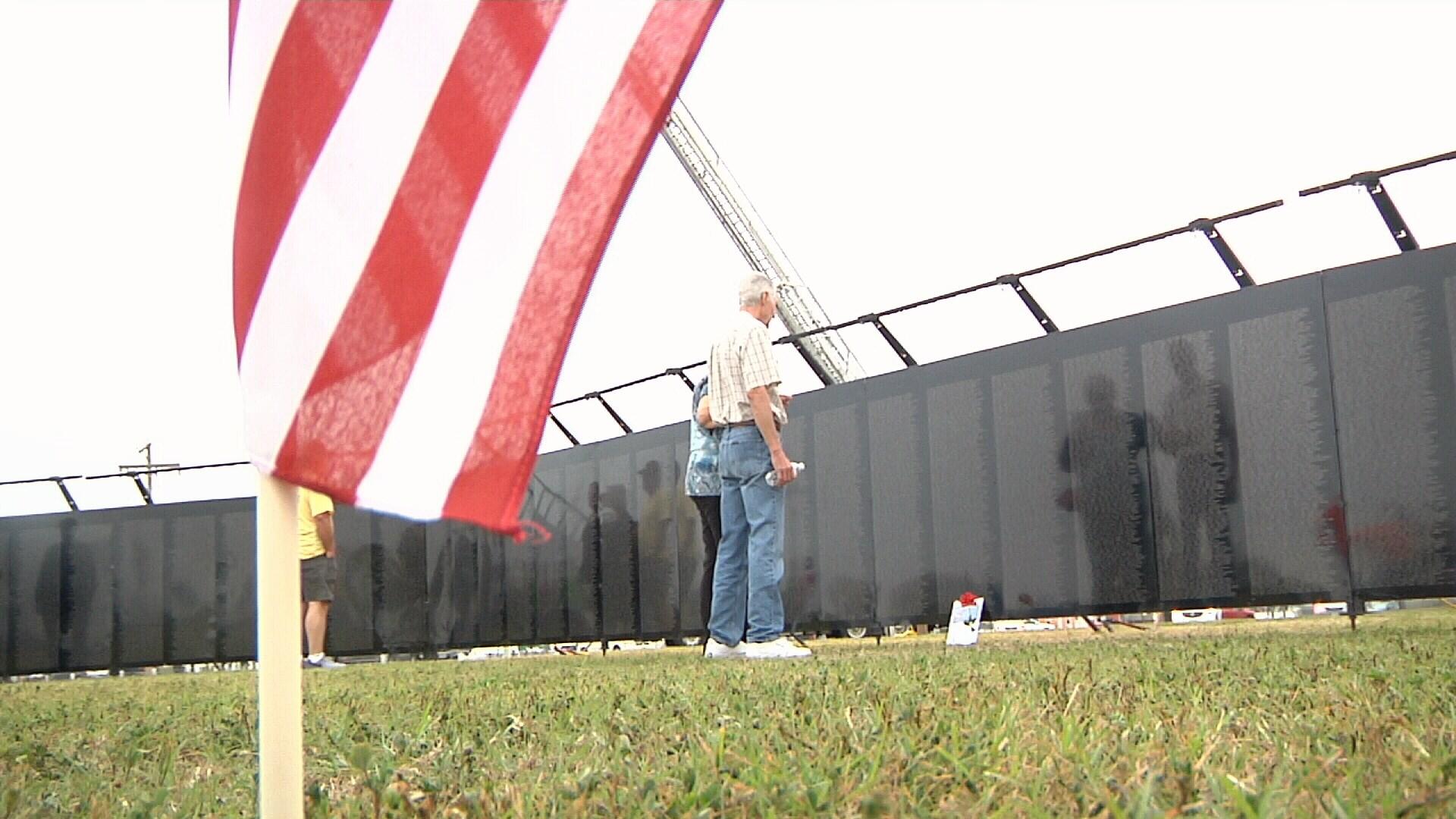 Traveling Vietnam Veterans Memorial replica visits the Coastal B -  KRISTV.com | Continuous News Coverage | Corpus Christi