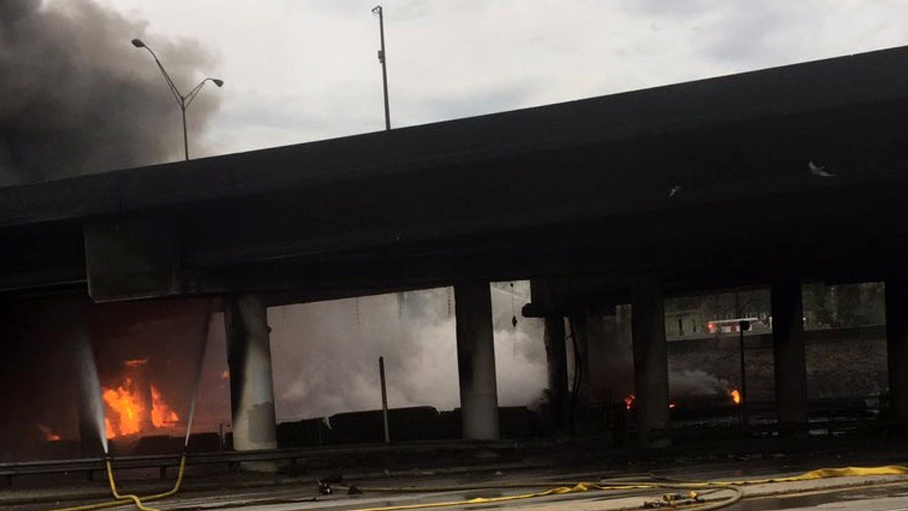 Suspect Charged For Setting Atlanta Freeway Fire Continuous News Coverage