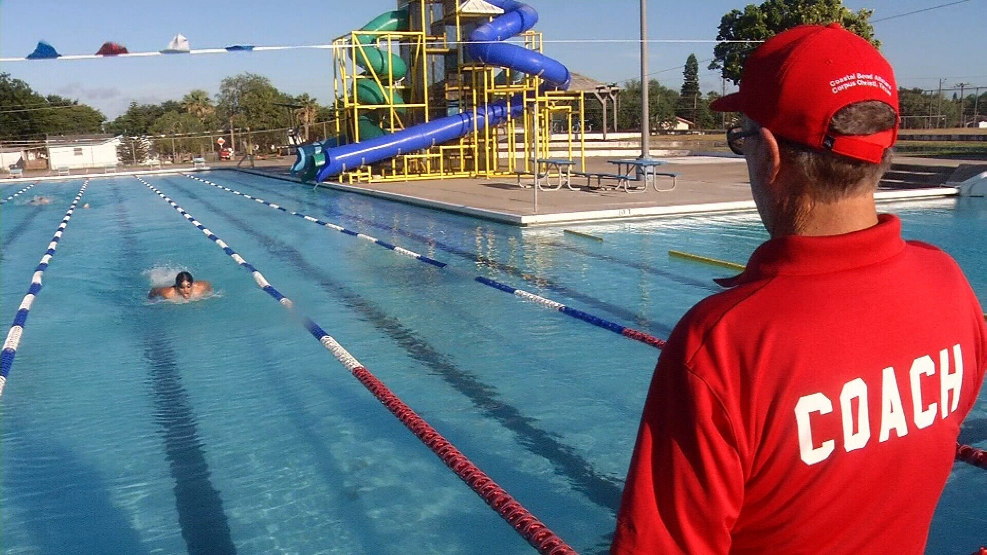 Members Of The Coastal Bend Allstars Swim Club Are Short On Practice Hours  After Not Being Able To Book Practices Earlier This Summer