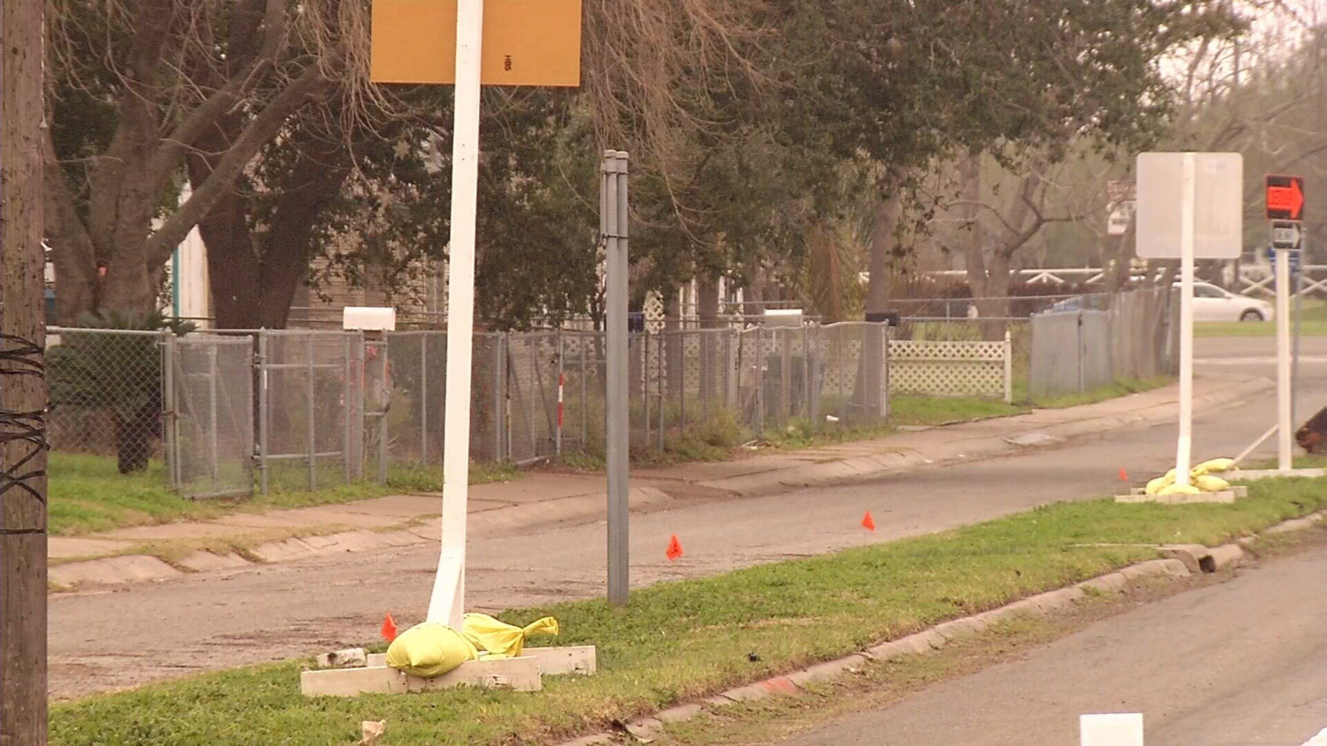 The 15-year old boy was walking on the 400 block of Up River Road when the five dogs attacked him.