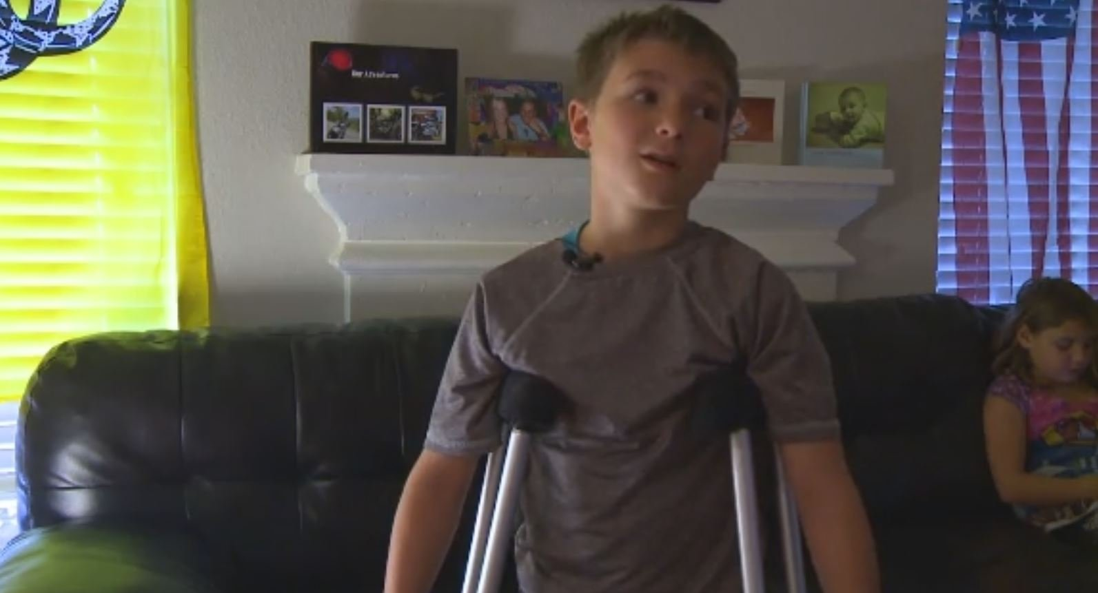 Austin Boy Crawls A Quarter Of A Mile Home After Being Hit