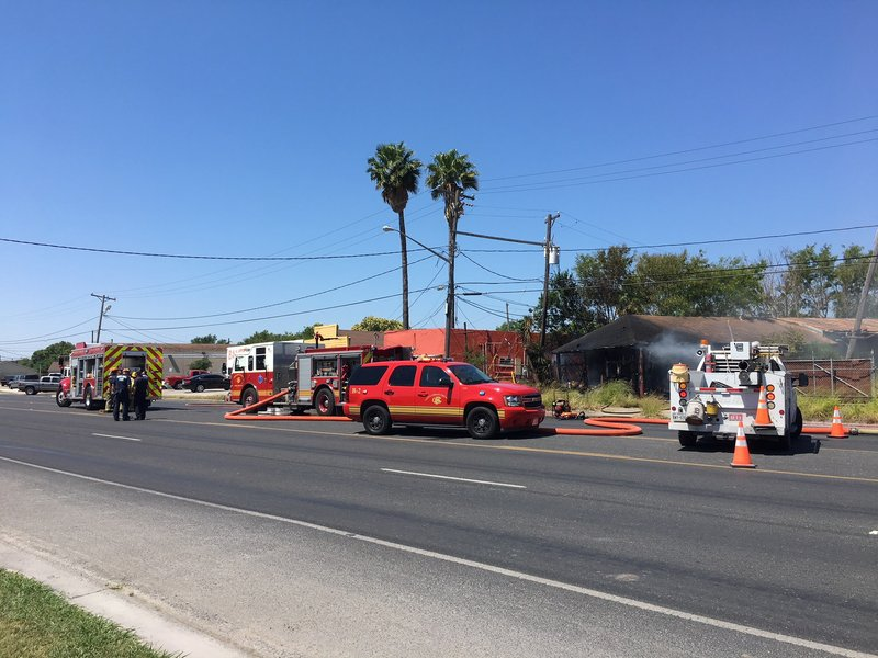 Bomb Squad called to Port Ave. fire