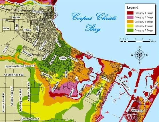 storm surge maps kristv continuous news coverage corpus