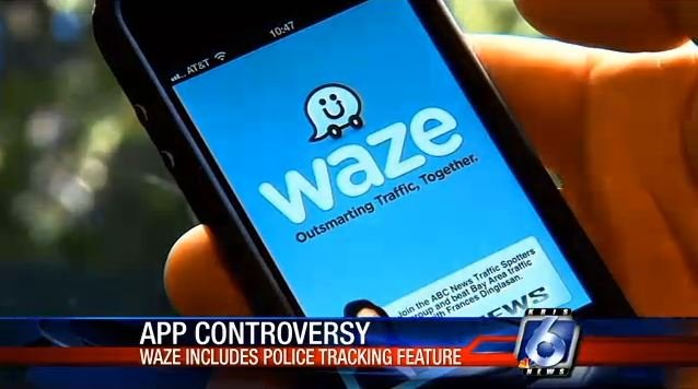 app lets you know when a police officer is nearby kristv