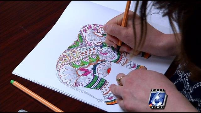 Coloring found to reduce stress - KRISTV.com | Continuous News ...