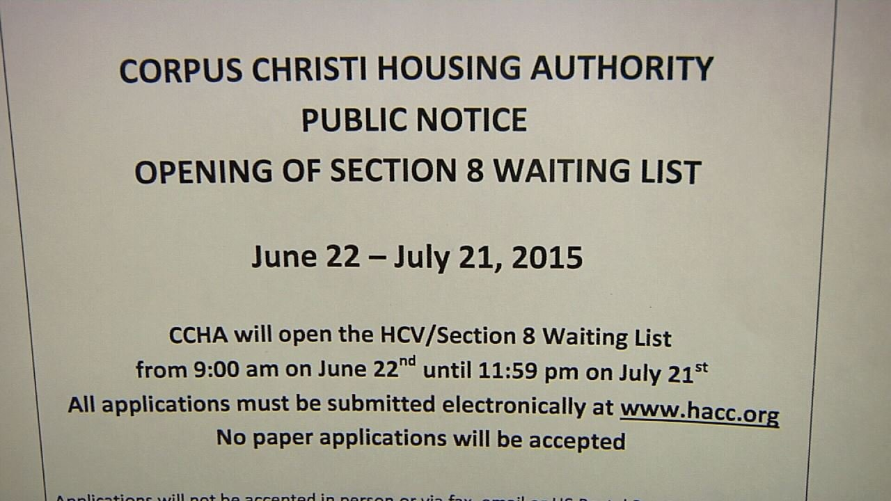 Housing Authority Ends 5 Year Freeze On Section 8