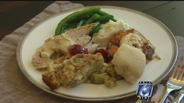 Local motorcycle group donates Thanksgiving baskets to veterans