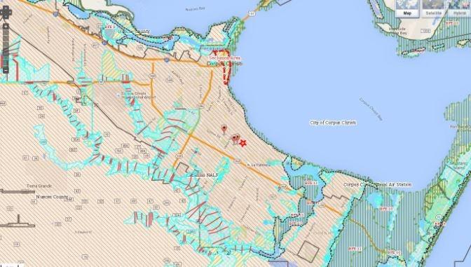 City Presents Revised FEMA Maps To Public KRISTVcom - Fema maps
