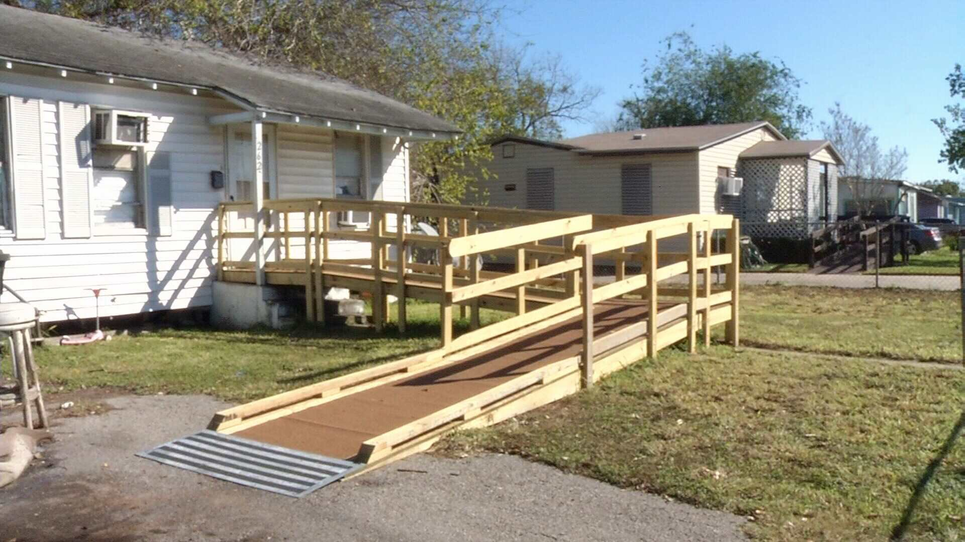 St Mark s Episcopal Church builds wheelchair ramps for those in