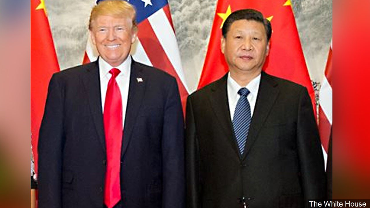 PHOTO: US President Donald Trump and President of China, Xi Jinping, Photo Date: November 9, 2017